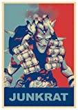 Poster Overwatch'Propaganda' Junkrat - A3 (42x30 cm)