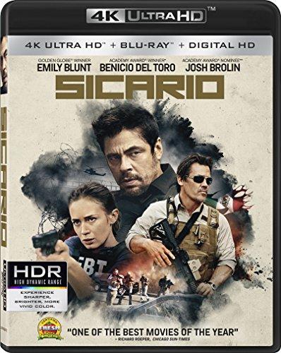 Sicario [4K Ultra HD + Blu-ray + Digital HD]
