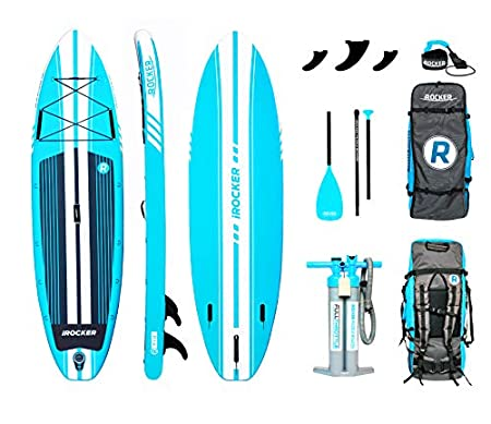 iROCKER All-Around Inflatable Stand Up Paddle Board Review