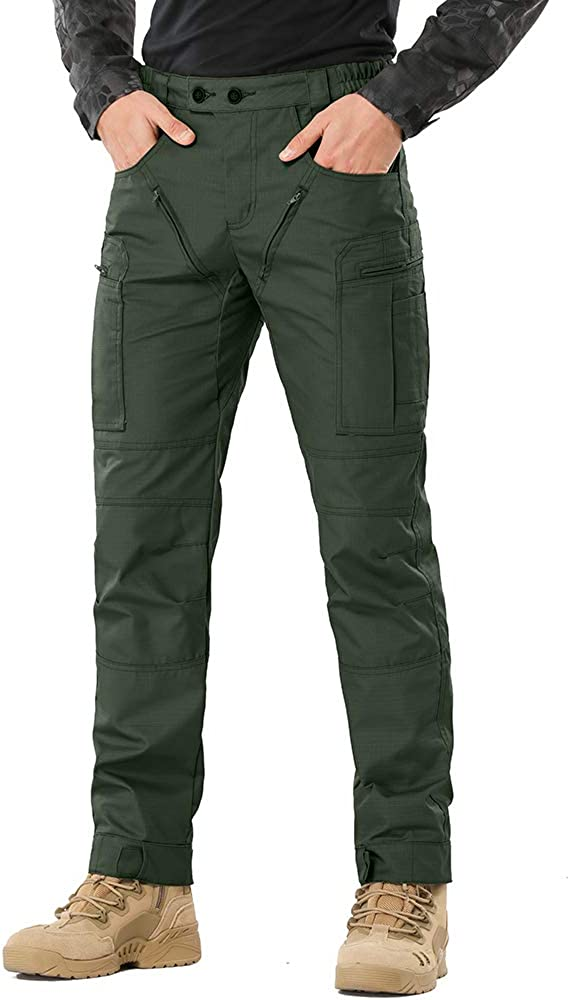 Men's Tactical Pants,Ripstop Cargo E Pants Lightweight Work Max Indianapolis Mall 40% OFF