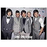 LDTSWES® One Direction British Band Puzzle Rompecabezas, 1000 Piezas Rompecabezas de Madera, Juego Grande Juguete Divertido Regalo para niños Trabajo Manual Rompecabezas de ensamblaje