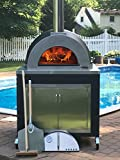 ilFornino Elite Plus Generation III - Wood Fired Pizza Oven - Cabinet Black