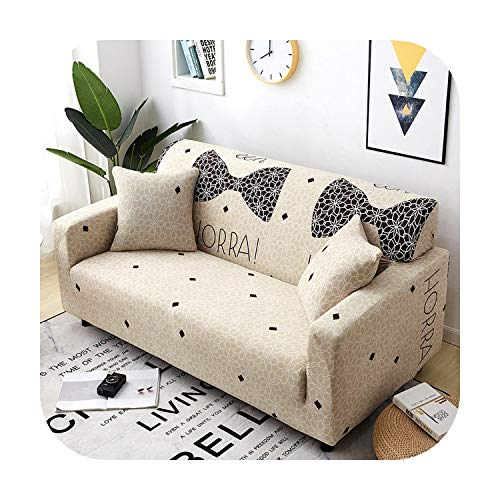 sofacover Universal Elastic All-Inclusive Non-Slip Sofa Cover Couch Cover Slipcover Printed Sofa Slip Cover Home Decoration Sofa Protector-18-4-Seater(235-300Cm)