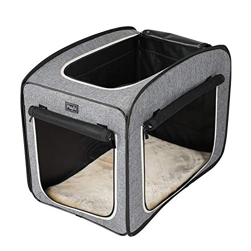 Petsfit 27″x18″x22″ Portable Pop Open Cat Kennel,Cat Cage,Dog Kennel,Cat Play Cube,Lightweight Pet Kennel