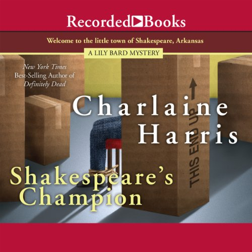 Shakespeare's Champion audiobook cover art