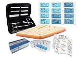 Kit de sutura Sigma Lance Edge Mark IV - Último modelo de malla doble 2020 - Entrenamiento completo de sutura
