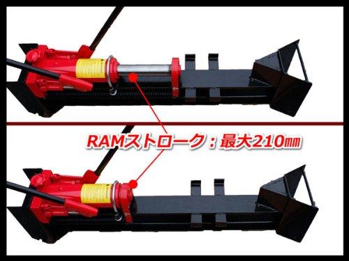 薪割り手動油圧薪割り機簡単ハイパワー10トン