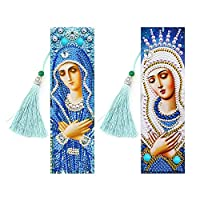 DIY Bookmarks Hot Selling Durable Simple Multi-function Special Shaped Diamond Painting Leather with Tassel Creative Gifts