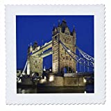 3dRose qs_82725_3 UK London, Tower Bridge und River Themse,