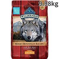 ブルー ウィルダネス ロッキーマウンテンレシピ ラージアダルト レッドミート 大型成犬用 9.98kg