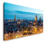 Paul Sinus Art Amsterdam Skyline 120x 60cm Panorama
