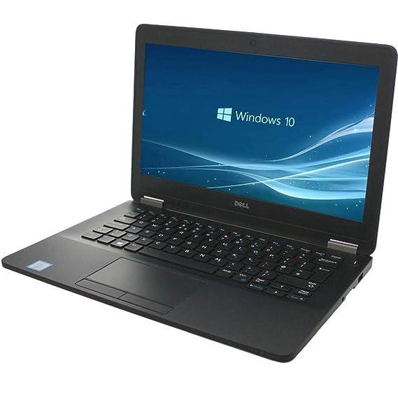 (Renewed) Dell Latitude E7270 12.5-inch Laptop (Core I5 6th Gen/8GB/256 GB SSD/Windows 10/MS Office Pro 2019/Integrated Graphics), Black