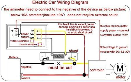 Amp Amperemeter DC 300A 75mV Strom Massnahme Shunt Widerstand A1D8 3X