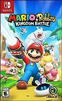 任天堂Switch アクション・ファイティングゲーム SW Mario+Rabbids Kingdom Battleマリオ+ラビッツ キングダムバトル〈Ubisoft〉北米版【新品】