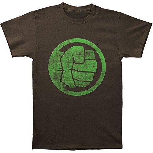 Marvel Hulk Fist Bump 30 Single T-Shirt- XLarge Black