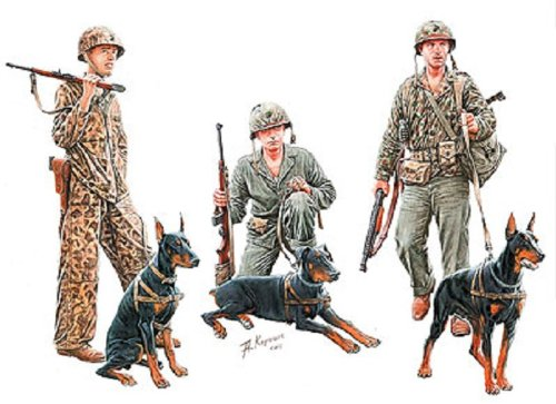 Drei Korper Pazifikkrieg Dober drei Korper 1:35 United States Marine Corps