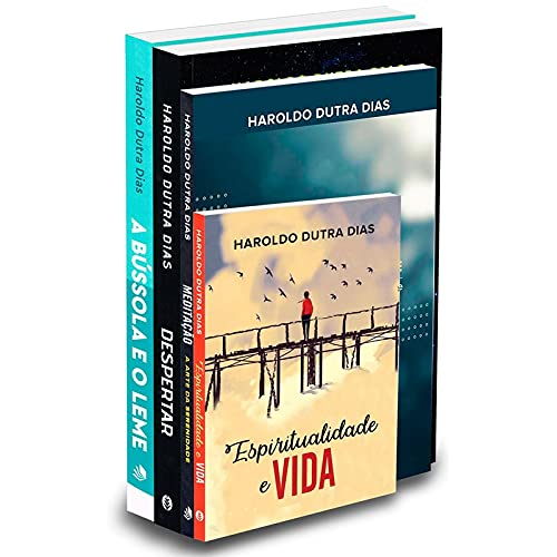 Haroldo Dutra - Kit Com 4 Livros