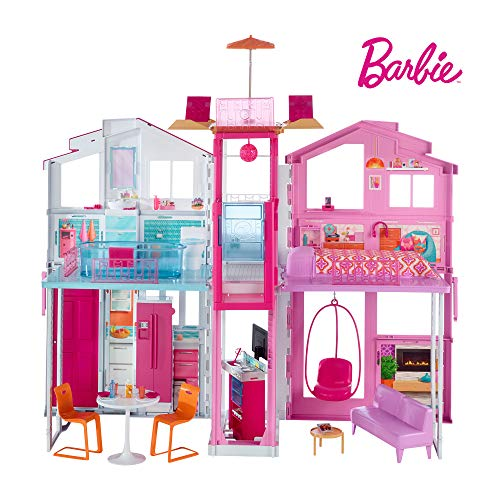 Barbie - Supercasa - casa muñecas,...