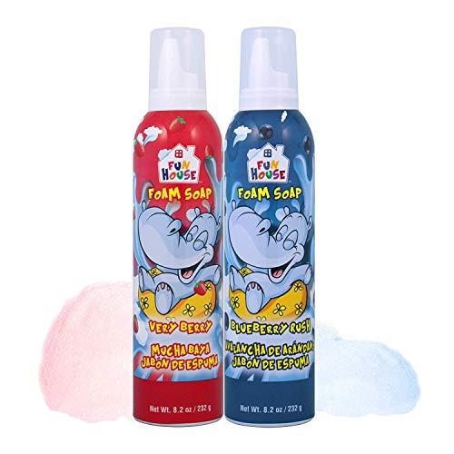 Moneysworth & Best Fun House Kids Foam Soap Very Berry & Blueberry Rush,
