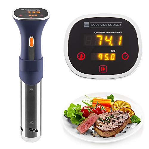 Best Choice Products 800W LED Sous Vide Immersion Cooker Circulator w/Touch Screen, Adjustable Clamp, Auto Shut-Off