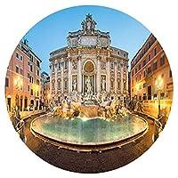 大人のためのジグソーパズル1000ピース、ジグソーパズルトレビの泉、ローマ円形パズル