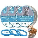 HIA Calming Collar for Cats, Kitten Pheromone Anti-Anxiety Calm Collars, Adjustable Reduce...