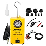 AUTOOL SDT-202 Automotive Fuel Leak Detector 12V Car Leak Locator Tester Support EVAP Car Fuel Leak Detector SDT202 Car Pipe Leak Tester for All Vehicle