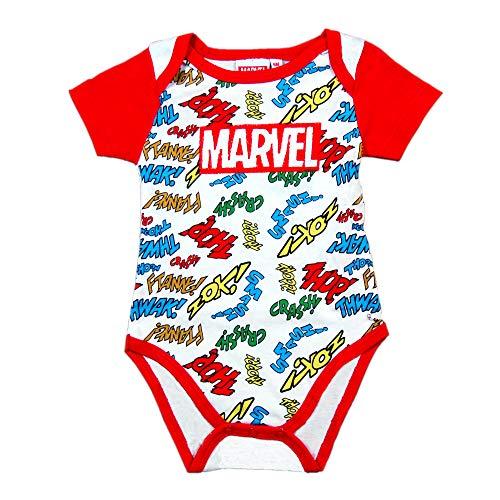 Marvel Body para Bebe - Logo Ropa Recién Nacido (18 Meses)