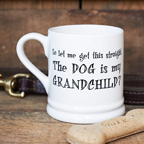 So let me get This Straight... The Dog is My Grandchild Mug by Sweet...