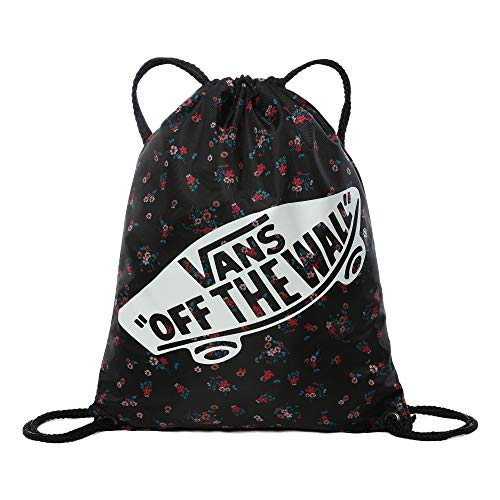Vans Women's BENCHED BAG, BEAUTY FLORAL BLACK, One Size