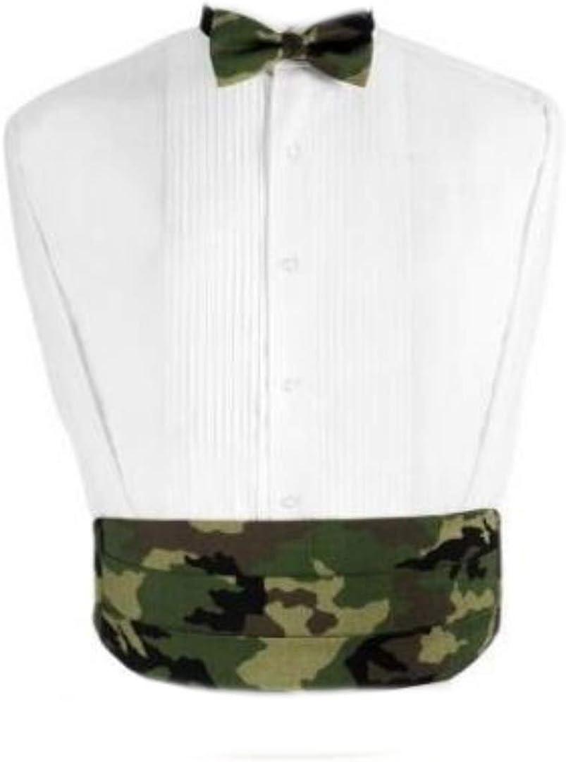 Camouflage Tuxedo Cummerbund and Bow Tie