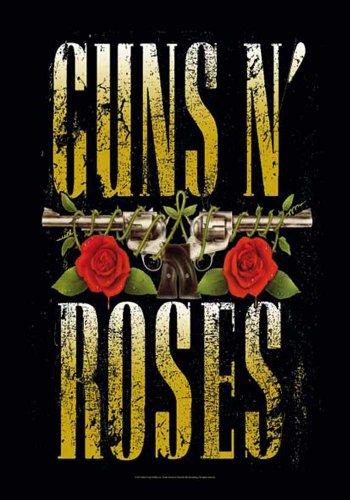 Guns N 'Roses - Big Guns - Poster Flagge 100prozent Polyester - 75 x 110 cm