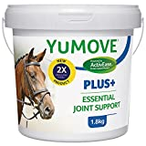 Lintbells   YuMOVE Plus Horse Double Strength Joint Supplement for Horses and Ponies, All Ages and Breeds   Tub, 1.8 kg