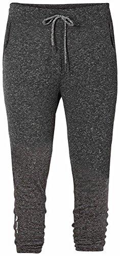 erima Damen Hose Green Concept 7/8 Jogging Pants, Darkgrey Melange, 44