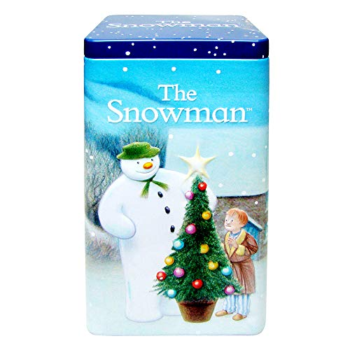 The Snowman Hot Chocolate Biscuits Tin 270g (Shortbread Bites)