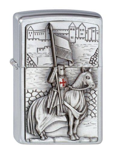 Zippo Zippo 1300104 Nr. 200 Crusader w/Horse und Flag