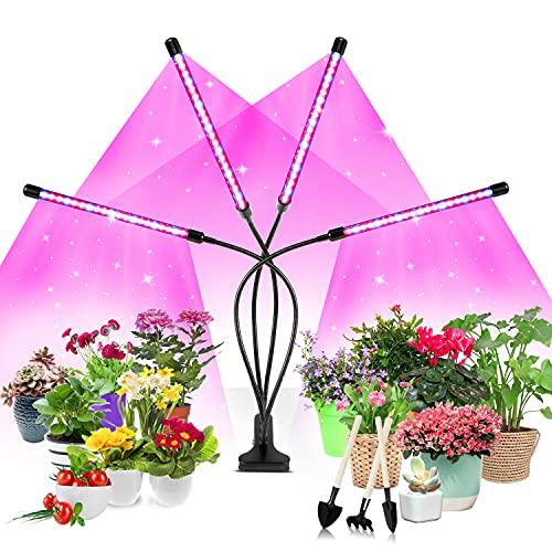 Soudntns Full Spectrum Led Plant Light, 80 LEDs LED Grow Light with 10...
