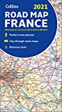 2021 Collins Road Map France