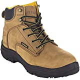 EVER BOOTS Men's Premium Leather Waterproof Work Boots Insulated Rubber Outsole for Hiking (7 D(M), Copper)