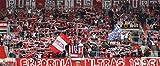Erfurt Fans Panorama – Poster 120 x 50 cm –