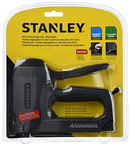 STANLEY SharpShooter Plus Nail Gun, Heavy Duty, Gray/Black (TR250)