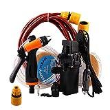 12V Portable Universal Car Washer Gun High Pressure Car Cleaner Electric Water Pump Kit
