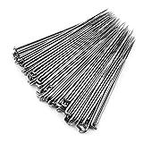 100 Unids agujas de fieltro Kits de agujas de Fieltro DIY Lana PIN Herramientas de Fieltro Set de aguja de fieltro kit de inicio Handcraft Handcraft Tool Accesorios (Aguja fina)