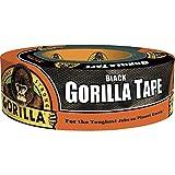 Gorilla 6035180 テープ ブラックダクトテープ 1.88 インチ x 35 ヤード ブラック 1 個入りパック 1 Pack TV205982 1