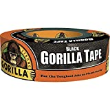 Gorilla 6035180 Duct Tape, 1-Pack, Black