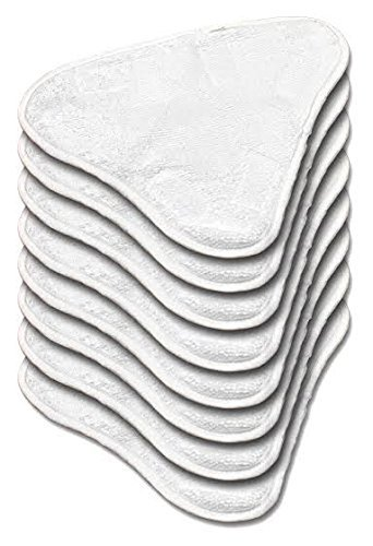 Non Genuine Microfibre Steam Mop Replacement pads Pack of 6 (washable) For H20,H20 X5 Spares Plus Packaging.