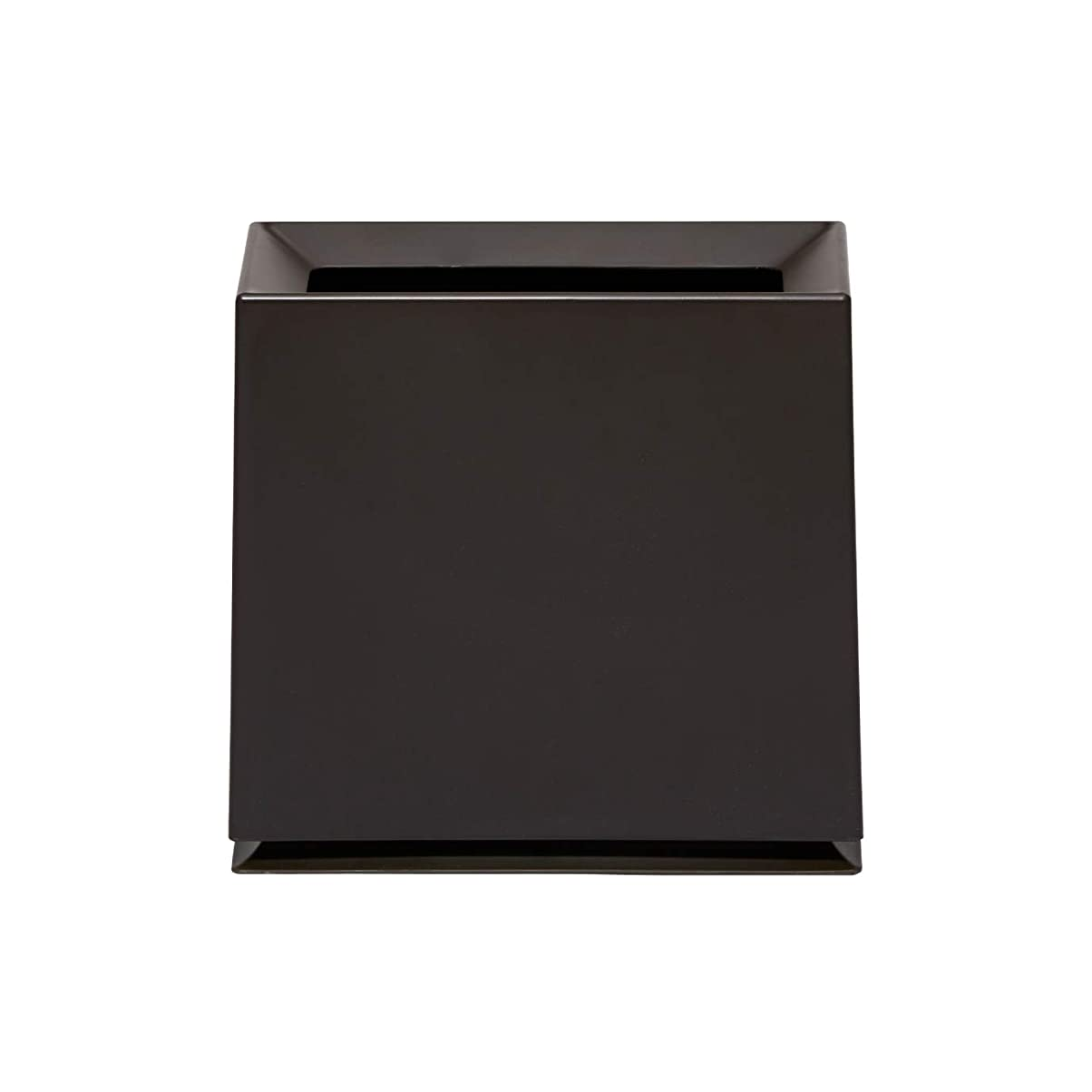絞る成功する入手しますideaco (イデアコ) フタなしゴミ箱 ブラウン 幅31.5cmx高さ30cmx奥行14.5cm チューブラーブリック マット