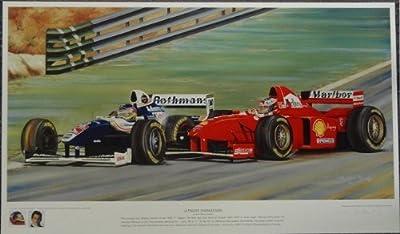 Ultimate Showdown Formula One Racing Print