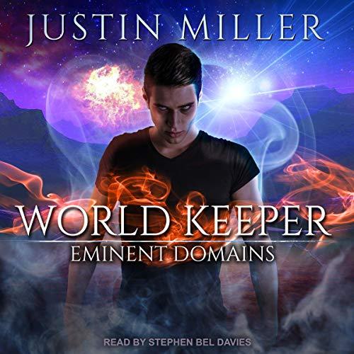 World Keeper: Eminent Domains audiobook cover art