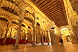SHILIHOME Mezquita escénica de Córdoba España DIY 5D Pintura de Diamante por número Kits únicos Decoración de la Pared del hogar Cristal Rhinestone Decoración de la Pared Punto de Cruz